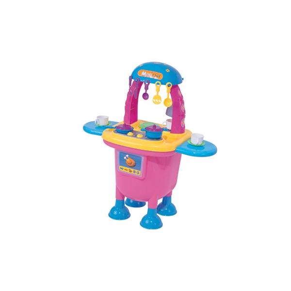 Cocina mini chef color rosa con 15 accesorios para ni as - Juguetes cocina para ninos ...