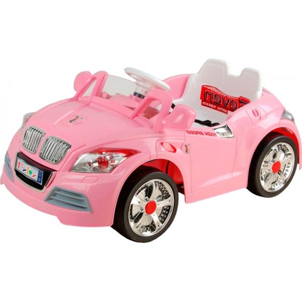 Auto Sport Electrico Infantil Rosa Mp3 In Control Remoto Hwo E