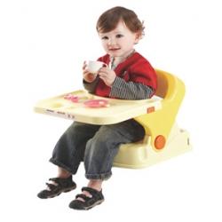 Silla Bebé Comodin Color Amarillo Cinturon de Seguridad