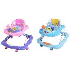 Andadera Baby Walker Abeja Azul y Rosa Juego Electronico