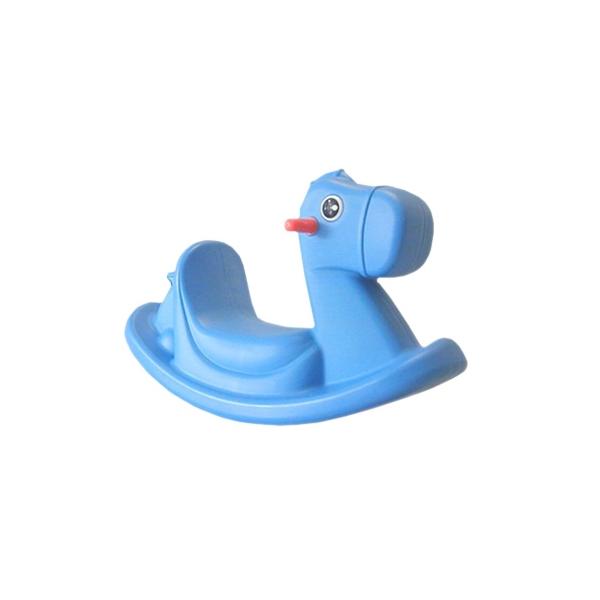 Mecedora Montable Pony Color Azul Para Niños de 1 a 4 Años - E ...
