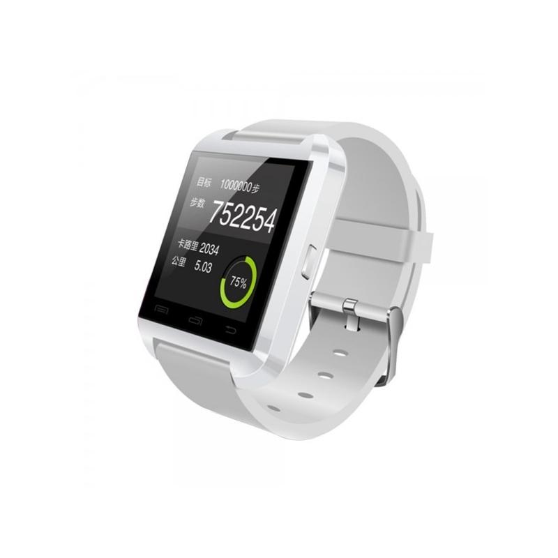Smartwatch U8 Bluetooth Iphone Android Blanco