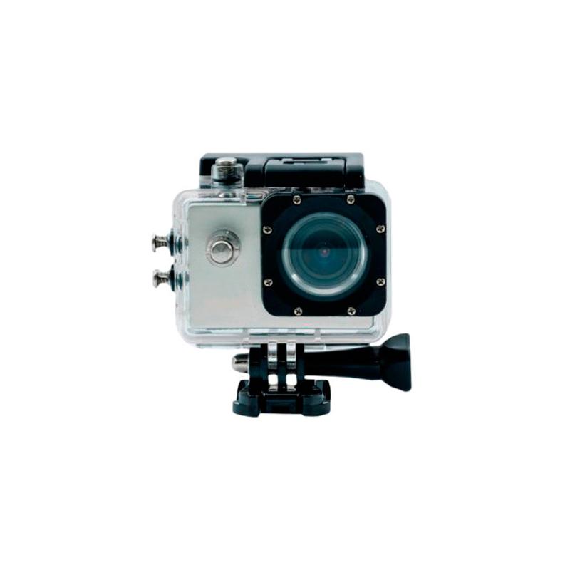 Camara Sportcam Full HD 1080 PLATA