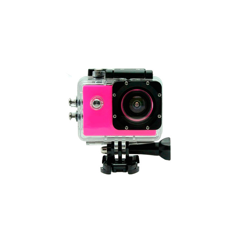 Camara Sportcam Full HD 1080  ROSA