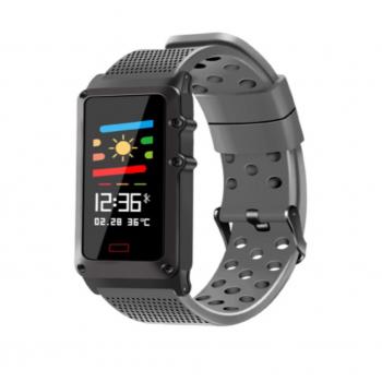 Smartwatch con Monitor de Ritmo Cardiaco contra agua
