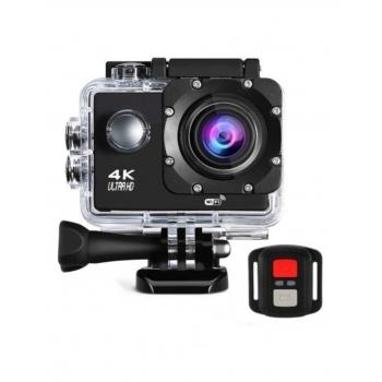 Sportcam 4K Color Negro Control Remoto Xcamvg