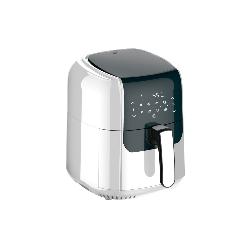Freidora de Aire Air Fryer Dracma 5.5 lts Antiadherente Color Blanco